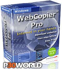 دانلود WebCopier Pro v5.4 - نرم افزار قدرتمند دانلود كامل یك وب سایت
